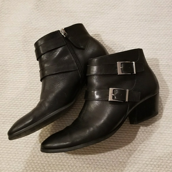 54bdd28ed3a Franco Sarto Quartet Ankle Boots